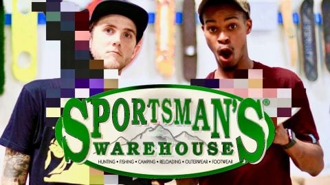 Skate Everything Wars Sportsman's Warehouse! | Braille Skateboarding