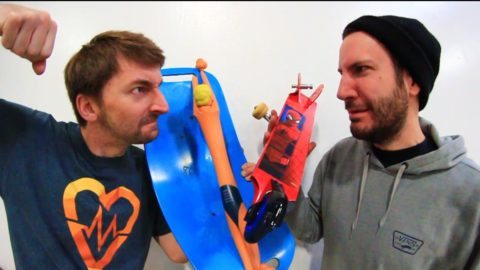 SKATE EVERYTHING WARS STRETCH ARMSTRONG | TARGET EDITION - Braille Skateboarding