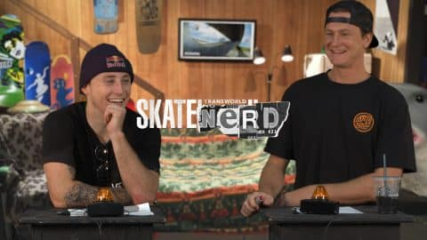Skate Nerd: Chris Russell Vs. Josh Borden | TransWorld SKATEboarding - TransWorld SKATEboarding