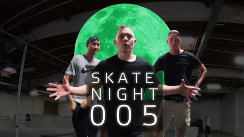 Skate Night 005: Best Hardflip from Sweden | ericbork