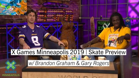 Skate Preview with Gary Rogers | X Games Minneapolis 2019 | X Games