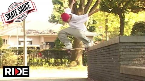 Skate Sauce Japan Tour - RIDE Channel