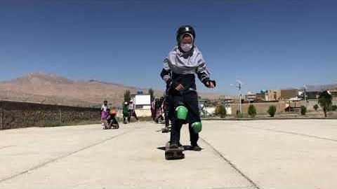 Skate School 5: Outreach session in Bamyan: Girls skate! | Skateistan