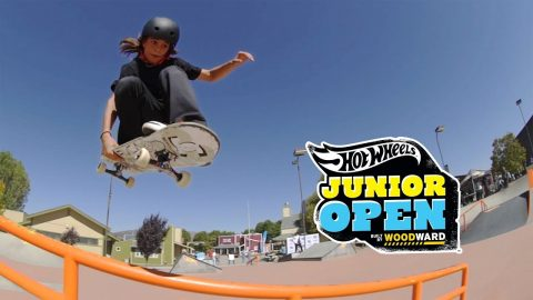 Skate Street Highlights - Hot Wheels Junior Open at Woodward West - Woodward Camp