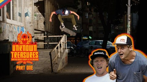 Skate The Hidden Spots Of The Balkans w/ Madars Apse, Wes Kremer & Crew | UNKNOWN TREASURES Part One | Red Bull Skateboarding