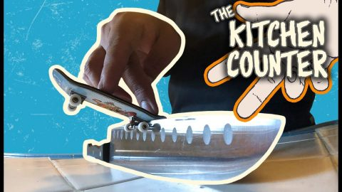 Skate The Kitchen Counter! | The Berrics