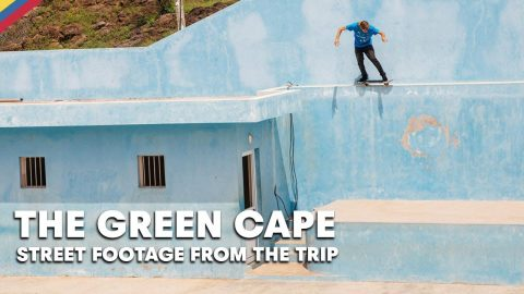 Skate The Streets Of West Africa With Jaws & Crew  |  THE GREEN CAPE | Red Bull Skateboarding