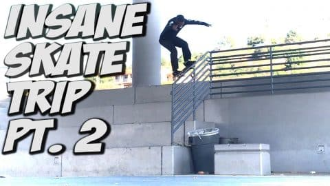 SKATE TRIP WITH VINNIE BANH & CORDANO RUSSELL !!! - A DAY WITH NKA - Nka Vids Skateboarding
