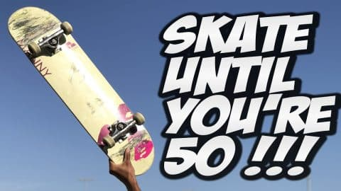 SKATE UNTIL YOU ARE 50 YEARS OLD !!! - A LIFETIME WITH NKA - - Nka Vids Skateboarding