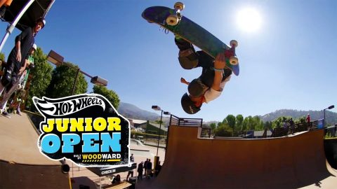Skate Vert Highlights - Hot Wheels Junior Open at Woodward West - Woodward Camp