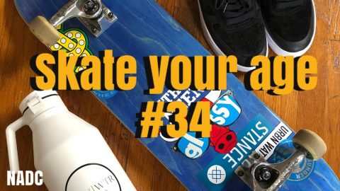 Skate your Age #34! NADC | Neen Williams
