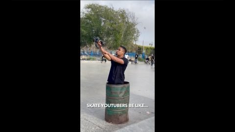 Skate Youtubers be Like #shorts | Lamont Holt