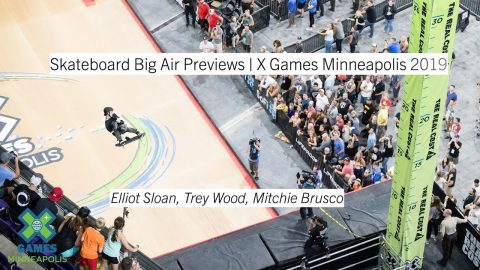 Skateboard Big Air Athlete Profiles | X Games Minneapolis 2019 | X Games