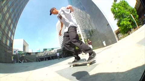 Skateboard Documentary - Dispatched Paris - DENNIS MARTIN