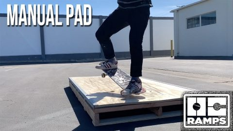 Skateboard Manual Pad by OC Ramps | OC Ramps