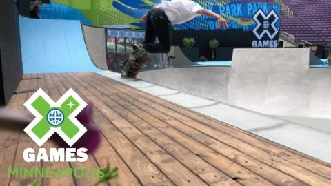 Skateboard Park preview with Tristan Rennie | X Games Minneapolis 2018 | X Games