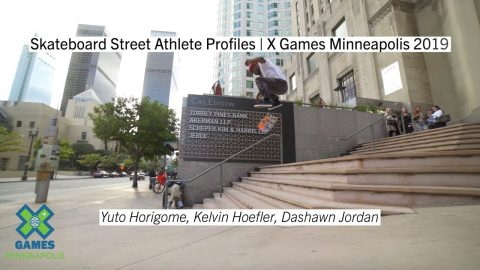 Skateboard Street Athlete Profiles | X Games Minneapolis 2019 | X Games