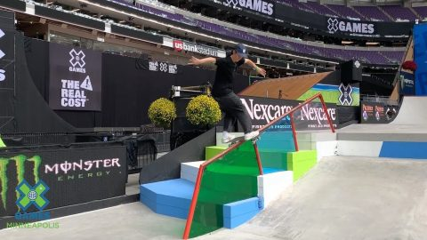 Skateboard Street Course Preview with Alexis Sablone | X Games Minneapolis 2019 | X Games