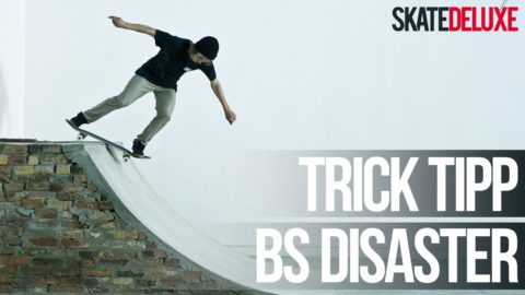 Skateboard Trick Tipp: Backside Disaster | Deutsch/German | skatedeluxe - skatedeluxe