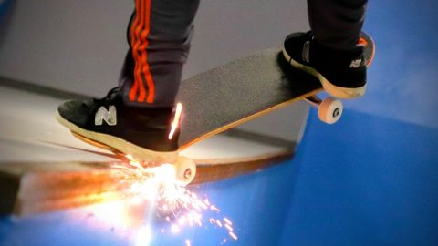SKATEBOARD TRUCKS THAT SPARK! | Braille Skateboarding