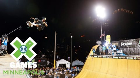 Skateboard Vert Final: FULL BROADCAST | X Games Minneapolis 2018 | X Games