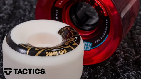 Skateboard Wheel Hardness | Skateboard Buying Guide - Tactics | Tactics Boardshop