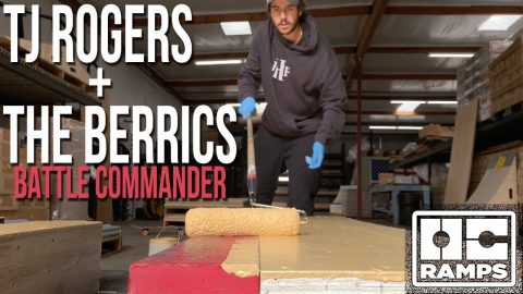 Skateboarder builds his own ramps for The Berrics | OC Ramps