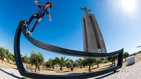Skateboarder João Allen Lets Loose in the Streets of Lisbon - Red Bull