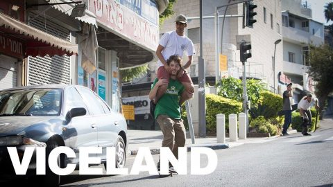 Skateboarding and the Israel Palestine Border | VICELAND