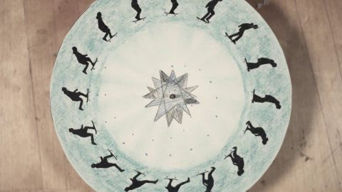 Skateboarding Animation Wheel | Phil Evans