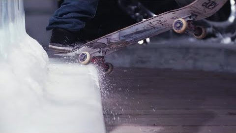 SKATEBOARDING ON ICE - Phil Josephu - Kape | kapeskateboards
