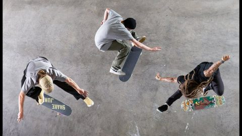 Skateboarding Shot From Above | The Berrics