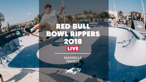Skateboarding The Legendary Prado Bowl | Red Bull Bowl Rippers 2018 - Marseille, France | Red Bull