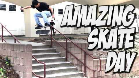SKATEBOARDING WITH THE HOMIES !!! - NKA VIDS - - Nka Vids Skateboarding