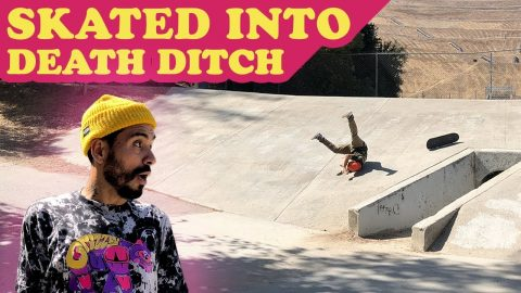 Skated Into DEATH Ditch! | MannysWorld
