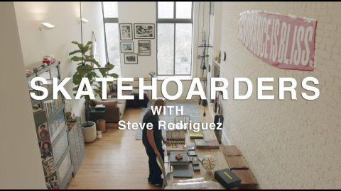 SkateHoarders: Steve Rodriguez | Historic Skateboard Collection and Artifacts and  in NYC | TransWorld SKATEboarding