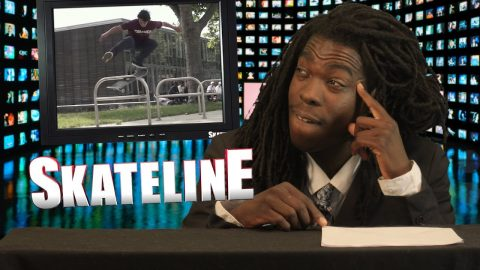 SKATELINE - Tiago Lemos VS Wade Desarmo, Stephen Lawyer, Daan Van Der Linden, William Spencer - ThrasherMagazine