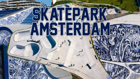 Skatepark Amsterdam Zeeburgeiland | On The Roll Magazine