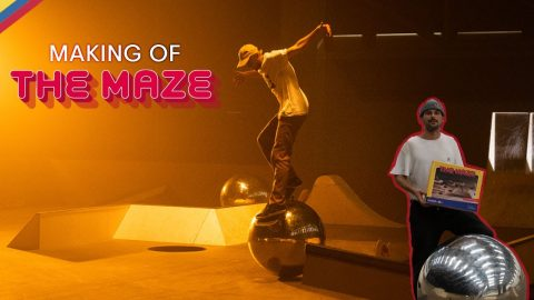 Skatepark Turned Board Game – How We Made 'The Maze' w/ Madars Apse, Vladik Scholz & Crew | Red Bull Skateboarding