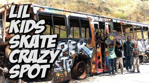 SKATER KIDS FIND CRAZY ABANDONED MILITARY BASE !!! - NKA VIDS - | Nka Vids Skateboarding