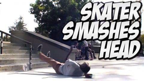 SKATER SMASHES HEAD !!! MARQUISE MENEFEE -  A DAY WITH NKA - Nka Vids Skateboarding