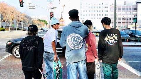 SKATERS DAY IN DOWNTOWN LOS ANGELES | Luis Mora