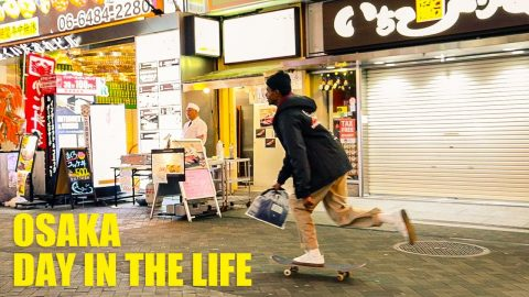 SKATERS DAY IN THE LIFE IN OSAKA, JAPAN | Luis Mora