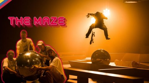 Skaters Dream Board Game: The Maze w/ Vladik Scholz, Madars Apse, Gustavo Ribeiro & Jost Arens | Red Bull Skateboarding