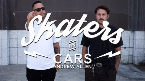 Skaters In Cars: Andrew Allen | X Games - X Games