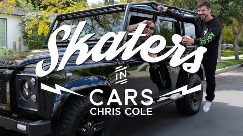 Skaters In Cars: Chris Cole | X Games - X Games