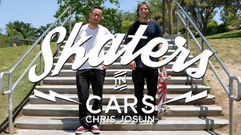 Skaters In Cars: Chris Joslin | X Games - X Games