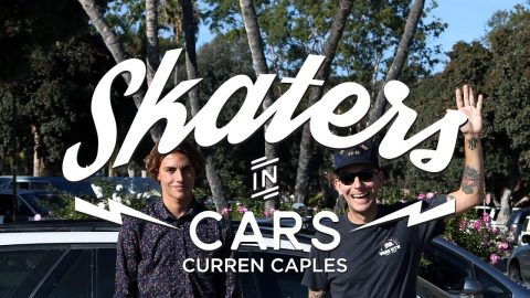 Skaters In Cars: Curren Caples | X Games - X Games