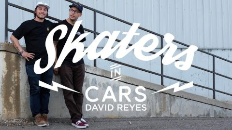 Skaters In Cars: David Reyes | X Games - X Games