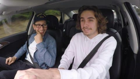 Skaters In Cars: Kyle Walker - Part 2   X Games - X Games